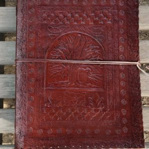Genuine leather Journal/Art Folio- new design front