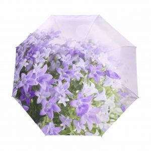UPF Umbrellas - Violets auto- UV coated