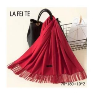 scarf unisex red