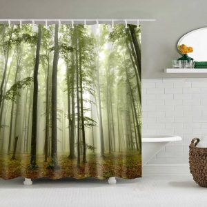 Eco-friendly washable Shower Curtains