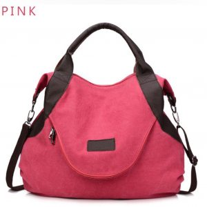 Fashion Womens Big Tote- pink large