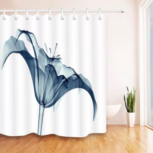 Unique shower curtain x-ray -2