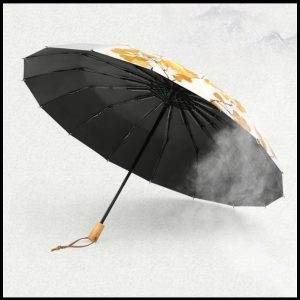 quality umbrellas UPF50+ maidenhair