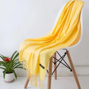 Best scarves for spring-golden yellow