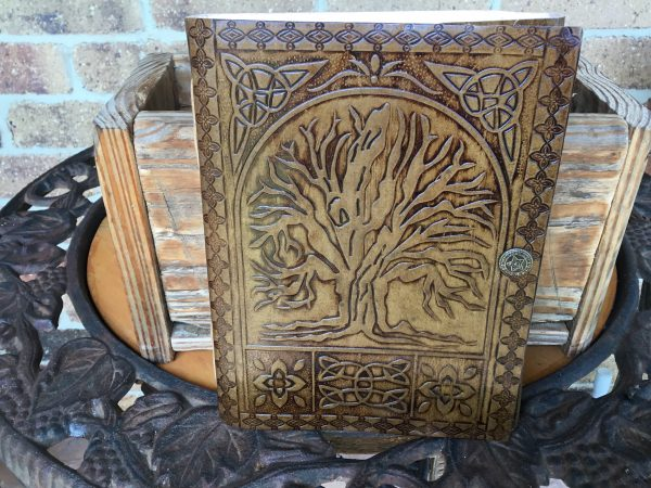Journals- tree of life medium light- front cover